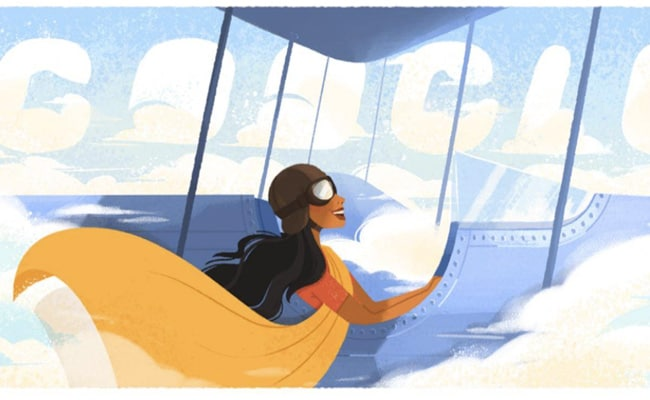 Google Honours India?s First Woman Pilot, Sarla Thukral, With Doodle