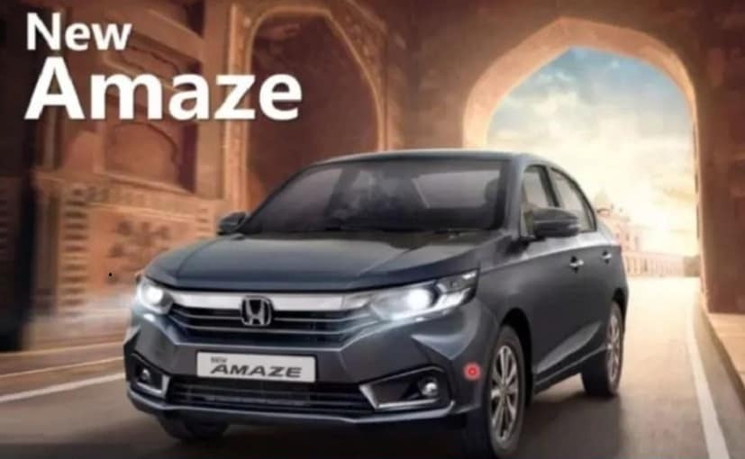 2021 Honda Amaze Facelift Launch Live Updates: Features, Images, Prices, Bookings, Deliveries