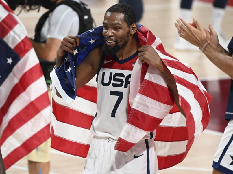 Tokyo Olympics: Proud Kevin Durant Leads USA To 4th Straight Olympic Basketball Gold