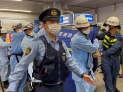 """Knife Attacker On Tokyo Train Wanted To Kill """"Happy Women"""": Report"""