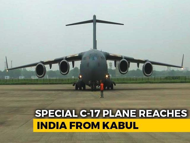 Video : After Harrowing Taliban Experience, 168 Reach India In Air Force Flight
