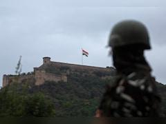 J&K Lieutenant Governor Hoists 100 Feet Tall Tricolour In Srinagar