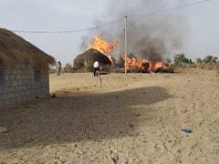 MiG-21 Fighter Jet Crashes In Rajasthan, Sets Hut On Fire; Pilot Safe