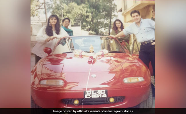 When Raveena Tandon Gifted Herself A Sports Car At 18