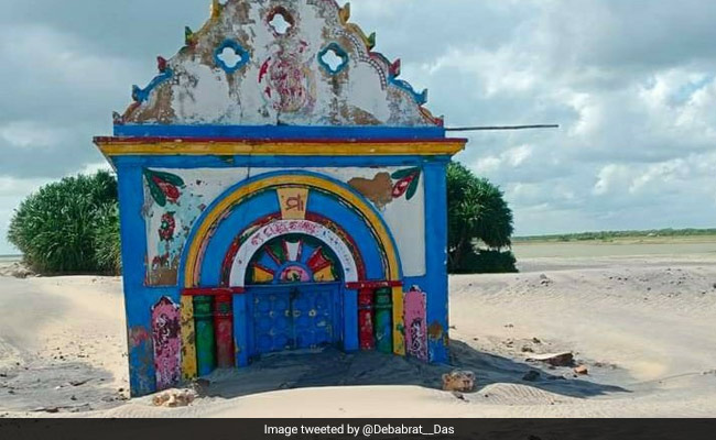 Giant Sea Waves Swallow Centuries-Old Temple In Odisha