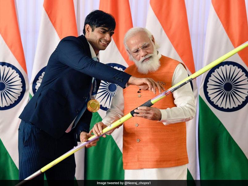 Neeraj Chopras Javelin, Lovlina Borgohains Gloves, Gifts To PM Modi, Receive 10cr Bids Each