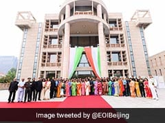 Indian Embassy In China Celebrates India's 75th Independence Day