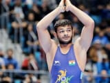 Video : Wrestler Deepak Punia Loses Bronze Medal Bout To Myles Amine