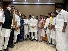 Rahul Gandhi Leads Opposition Breakfast Meet To Plan Parliament Offensive