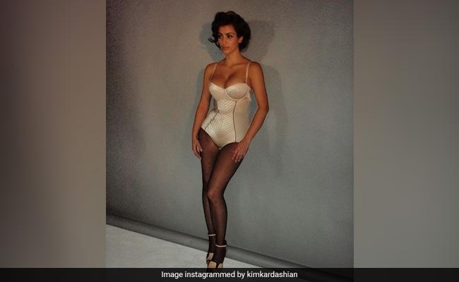 Kim Kardashian's Throwback To Her 'First Photoshoot'