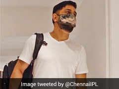 """CSK Celebrate 'World Lion Day' With MS Dhoni's """"Entry"""" In Team Camp"""