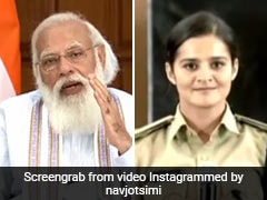 Watch: PM Modi's Question Had This Dentist-Turned-Cop In Splits