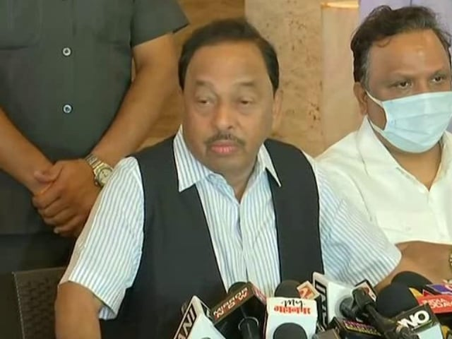 """Video : """"Party Leaders Stood Behind Me, Thank Them,"""" Says Narayan Rane On Arrest"""