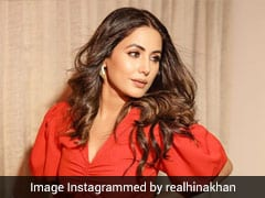 Hina Khan Is Red-Dy To Make Your Hearts Skip A Beat In A Cutout Jumpsuit