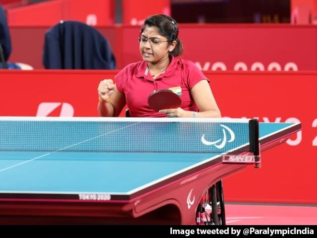 Video : Paralympics: Bhavinaben Patel Reaches Final, Assured Of At Least Silver