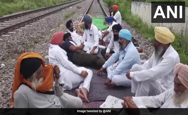 Farmers' Protest Hits Train Movement, National Highway In Punjab's Jalandhar