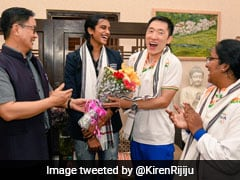 """""""Every Indian Knows You"""": Minister Kiren Rijiju Thanks PV Sindhu's Coach"""
