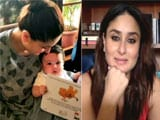 """Video : """"Not Without Jeh"""": Taimur Already Has 'Older Brother Vibe,' Kareena Kapoor Tells NDTV"""