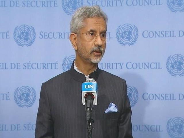 "Video : India ""Very Carefully"" Following Developments In Afghanistan: S Jaishankar"