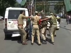 Action Against J&K Cop Amid Anger Over Assault Of Journalists