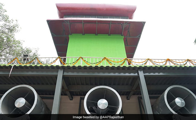 India's First Smog Tower Inaugurated In Delhi