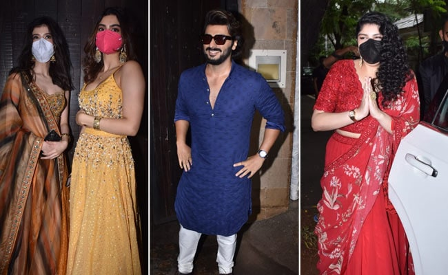 Rhea Kapoor And Karan Boolani's Wedding: Arjun, Shanaya, Khushi, Anshula Arrive At Anil Kapoor's Home