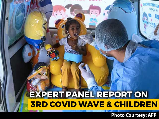 """Video : """"Paediatric Facilities Nowhere Close,"""" Report Warns On 3rd Wave, Children"""