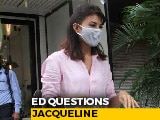 Video : Actor Jacqueline Fernandez Questioned As Witness In Money Laundering Case