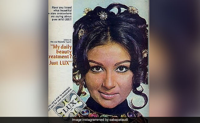 A Vintage Ad Featuring The Evergreen Sharmila Tagore, Shared By Daughter Saba Ali Khan