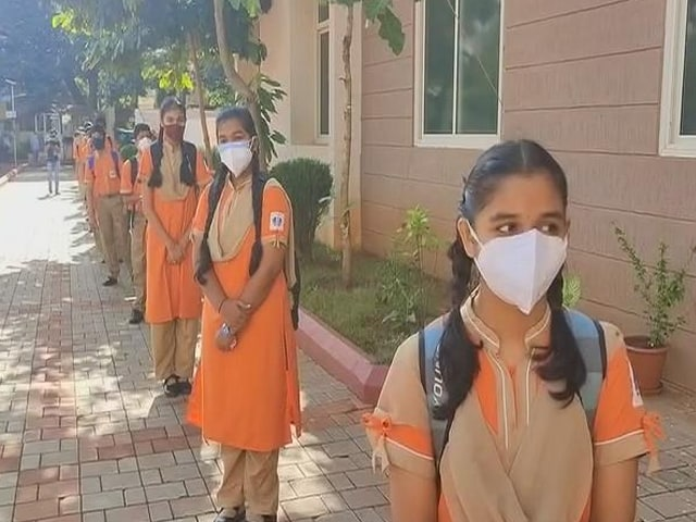 Video : Karnataka Schools Open For Classes 9 to 12