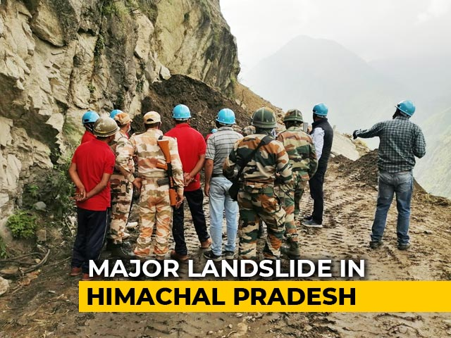 Video : 11 Dead In Himachal Pradesh Landslide, 25-30 Missing As Vehicles Trapped