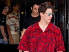 Spotted: Nick Jonas With Brother Kevin At Priyanka Chopra's New York Restaurant