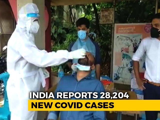 Video : India Reports Lowest Daily Covid Cases (28,204) In Almost 5 Months