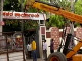 Video : Karnataka Minister, Unhappy With Portfolio, Removes Sign Above Office