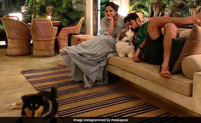 In Pics: All The Times Rhea Kapoor And Karan Boolani Set Couple Goals