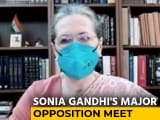 """Video : """"Rise Above Compulsions..."""": Opposition Talks Unity at Sonia Gandhi's Meet"""