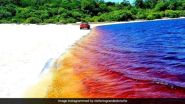 Did You Know? This Coca Cola Lake In Brazil Is An Unusual Tourist Hotspot