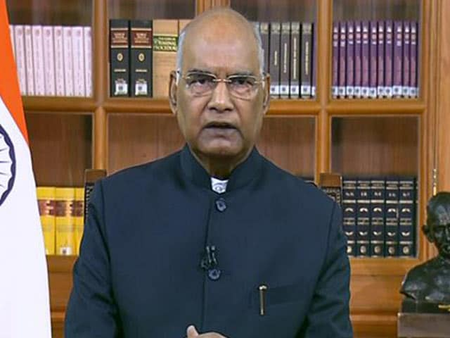 Video : Pained That Many Died In 2nd Covid Wave: President Ram Nath Kovind
