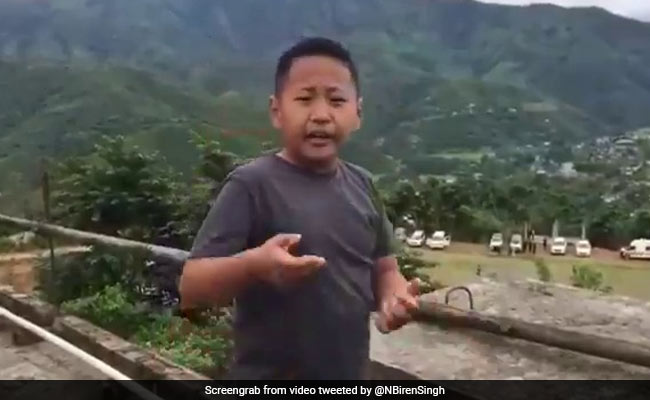 7-Year-Old 'Journalist' Reports On Oxygen Plant, Impresses Manipur Chief Minister
