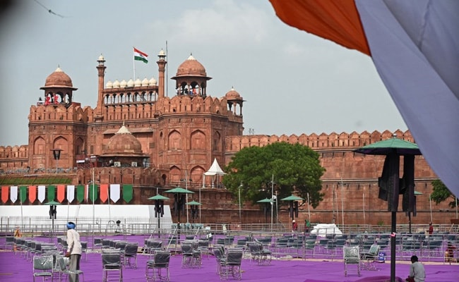 PM To Host Olympic Contingent At Red Fort On 75th Independence Day Today