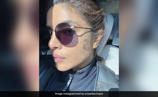Just Another 'Messy Day At Work' For Priyanka Chopra. See Her Pic From Citadel Set