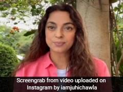 "Watch: Juhi Chawla's Insta Rebuttal On 5G ""Publicity Stunt"" Charge"