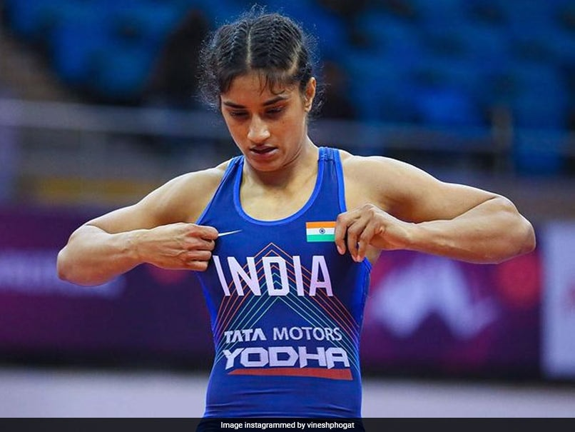 """Wrestling Federation of India Chief Says Vinesh Phogat """"Forgiven"""", Welcome To Give Trials"""