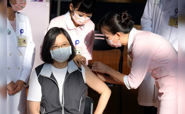 Taiwan's President Leads Way In First Domestic Covid Vaccine