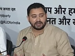 "Bihar Leader Tejashwi Yadav's <i>""Pita Jaan""</i> Dig At Yogi Adityanath"