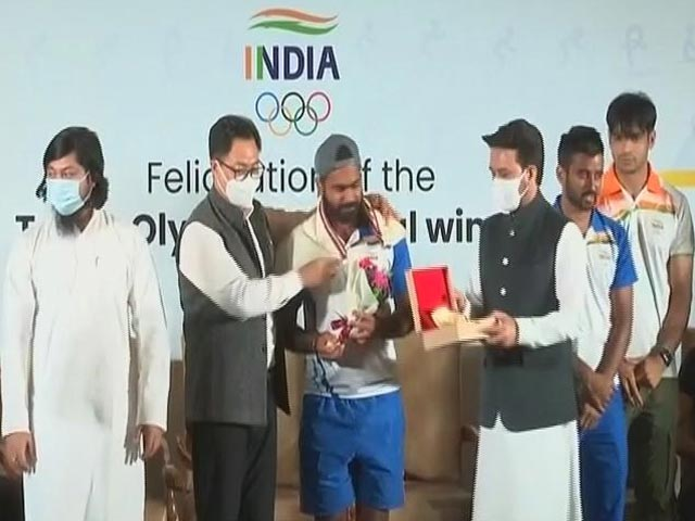 Video : Top News Of The Day: Olympic Contingent Back Home