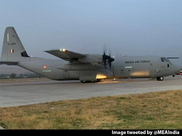 Video : After Harrowing Taliban Experience, 168 Leave Kabul On Air Force Flight
