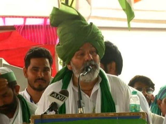 "Video : ""Sarkari Taliban"": Farmer Leader Rakesh Tikait's Attack Over Crackdown"