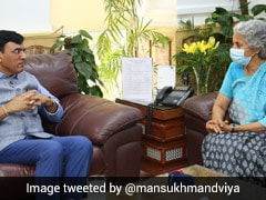 Health Minister Meets WHO Chief Scientist, Discusses Covaxin Approval