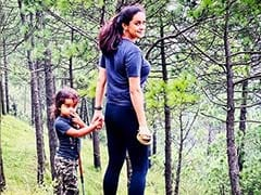 The Adventures Of Gul Panag And Son Nihal: See Pics From Camp Site